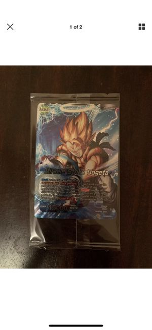 [IN HAND] DRAGONBALL Z TRADING CARD for Sale in New York, NY