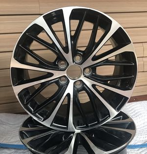 Low Profile Rims! From a 2018 Toyota Camry! $800.00 OB . Pickup Only. for Sale in Hurricane, WV