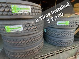 Commercial Truck Tire 16 Ply 295/75R22.5 / Drive / Semi for Sale in Chino, CA