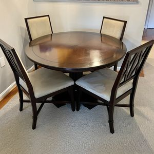 Round Table And 4 Chairs for Sale in Alexandria, VA