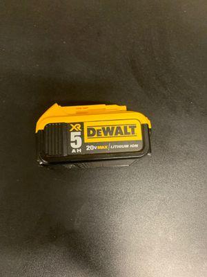 Dewalt battery. for Sale in Roseville, CA