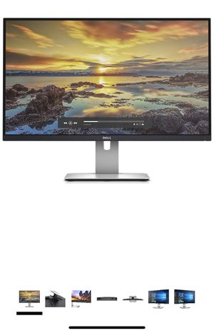 Dell 27 inch Ultra Sharp LED-Lit Computer Monitor for Sale in Seattle, WA