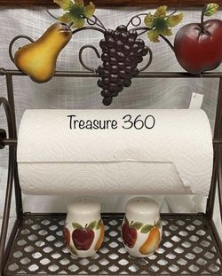 Home Interiors /Ch Towel Roll Paper Holder Stand for Sale in Dallas,  TX