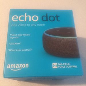 **BRAND NEW FACTORY SEALED IN BOX Echo dots Alexa for Sale! for Sale in Chicago, IL