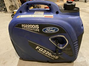 Ford FG220IS Generator 2200 watt for Sale in Portland, OR
