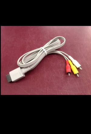 NINTENDO Wii AV / TV CORD ADAPTER - PRICE IS FIRM for Sale in Columbus, OH