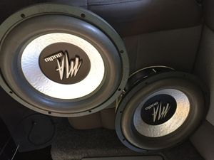 12 IN M/A AUDIO SUBS for Sale in Norwalk, CA