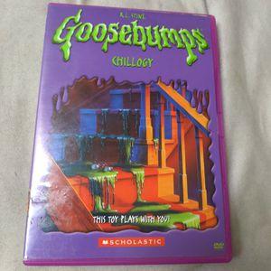 GOOSEBUMPS: CHILLOGY (DVD) for Sale in Phoenix, AZ