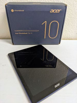 Acer Chromebook Tablet 10 - like new for Sale in San Jose, CA
