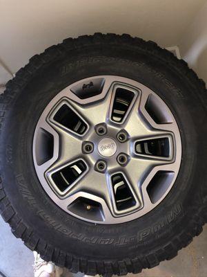 Jeep tires rubicon takeoffs for Sale in Tucson, AZ