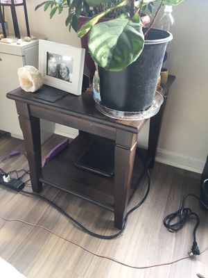 Wooden end table for Sale in Chevy Chase, MD