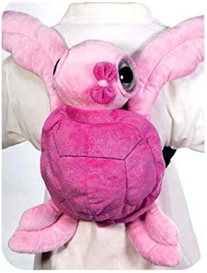 """Big Eyed Turtle Travel Buddy 15"""" Pink Plush Backpack for Sale in Las Vegas, NV"""