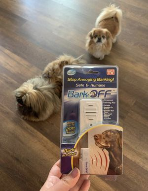 Bark Off ultrasonic training aid - new for Sale in South San Francisco, CA