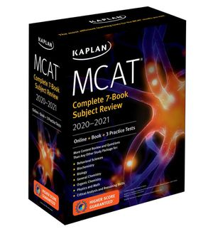 Kaplan MCAT Complete Study Set 2019-2020 Digital Set for Sale in Miami, FL