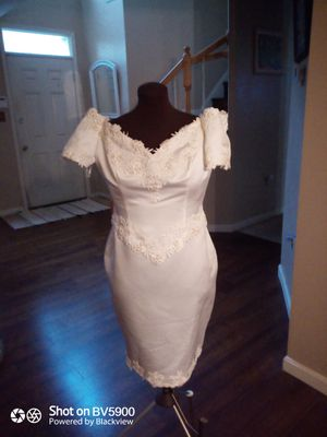 Wedding dress or nice cocktail dress for Sale in UPPR MARLBORO, MD
