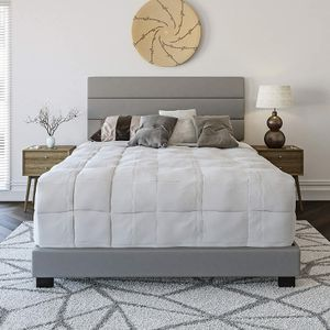 *Brand New* Boyd Sleep Montana Upholstered Bed Frame, Faux Leather, Queen for Sale in Dublin, OH