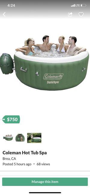 Coleman Hot Tub (Spa) for Sale in Santa Ana, CA