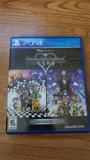 Kingdom Hearts 1.5 2.5/ PlayStation 4/ Used for Sale in Los Angeles, CA