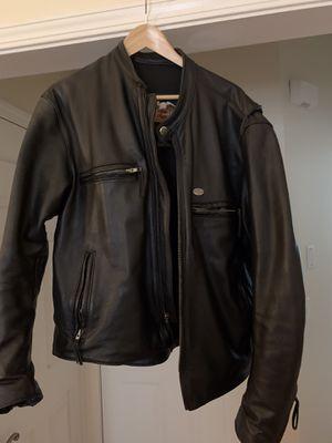 Harley Davidson Men's Leather Jacket LG for Sale in Acworth, GA