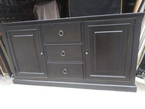 Used large entertainment center tv stand for Sale in Nashville, TN