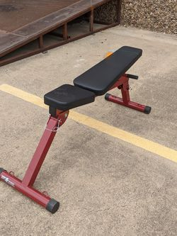 New Body Solid Best Fitness Folding Flat Incline Decline Weight Bench for Sale in Frisco,  TX