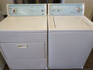 Kenmore Washer and Dryer $325 With Warranty for Sale in Fresno, CA