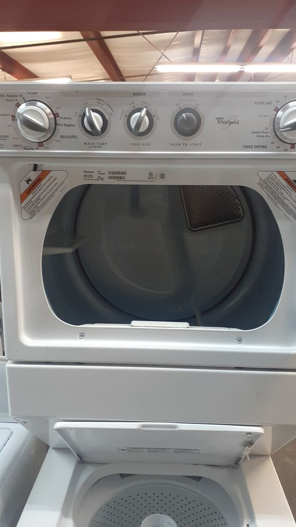 Stackable washer and dryer Whirlpool