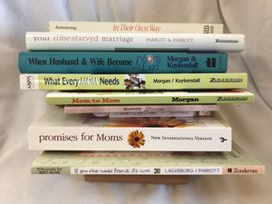 Set of 10 Parenting Marriage and or Busy Mom Books for Encouragment. MOPS books. Classics! for Sale in Battle Ground, WA