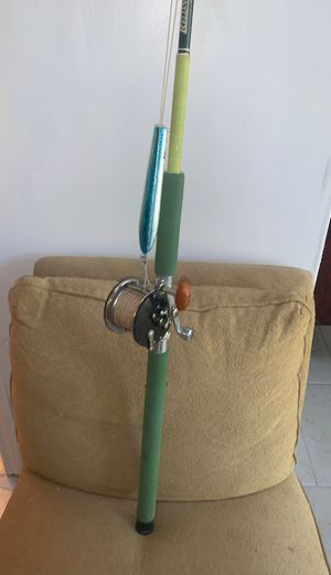 Penn Offshore Fishing Pole & Reel- Penn-60 Long Beach-$95 OBO for Sale in Humble, TX