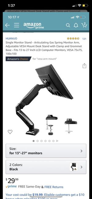 LCD monitor stand for Sale in Huntington Beach, CA