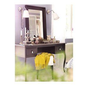 Ikea Gray Edland Dressing Table with Nils Stool for Sale in Woodbridge, VA
