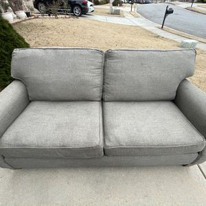 Gray Two Seat Couch for Sale in Lawrenceville, GA