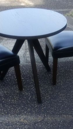 Brand new wooden Tripod Bistro Table Durable High quality for Sale in Stockbridge,  GA