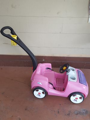 Step 2 pink girl carts for Sale in Fort Myers, FL