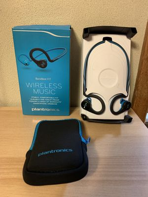 Plantronics Bluetooth Earbuds Backbeat fit for Sale in University Place, WA