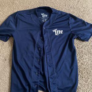 Miller Lite Baseball Jersey for Sale in Romeoville, IL