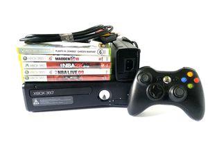 Xbox 360 S Console Bundle + 5 Games for Sale in Davis, CA