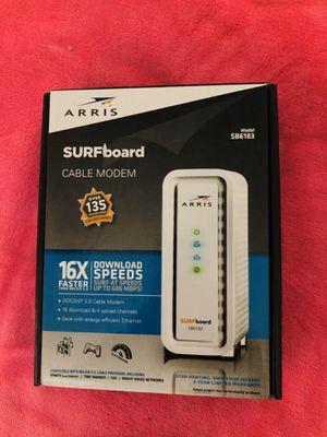Arris SB6183 Cable Modem for Sale in Carmichael, CA
