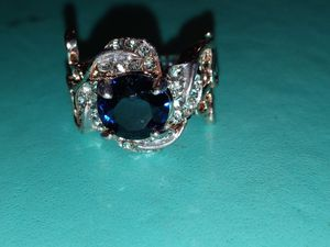 Sapphire and rose gold size 7 ring for Sale in Cleveland, TN