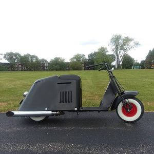 Rat Rod 1949 Cushman 60 series step through scooter- Runs Great! for Sale in Lombard, IL