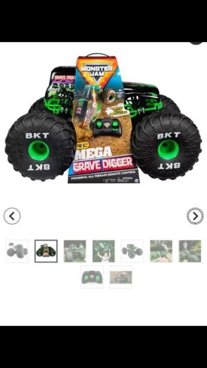 New car toys for the kids monster jam drives over and powerful all terrain remote control for Sale in Richardson, TX