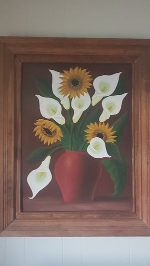 Art from Guadalajara.....wood frame beautiful piece that will add that perfect rustic look to you living space for Sale in Bellflower, CA