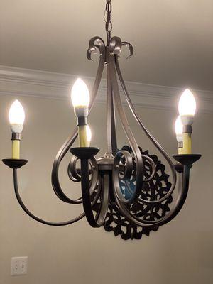 5 Light Rustic Chandelier for Sale in Upper Marlboro, MD