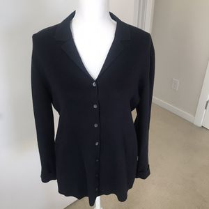 Charter Club Navy Cardigan, Petite M for Sale in Denver, CO
