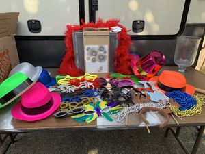 Photo booth props for Sale in Saint Paul, OR