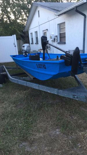 2008 14 foot aluminum John for Sale in Hudson, FL
