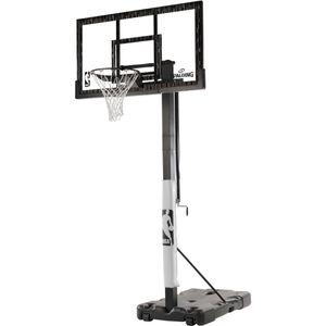 "Spalding 60"" Inch Acrylic NBA Portable Basketball Hoop (lifetime) shatter proof for Sale in Edison, NJ"