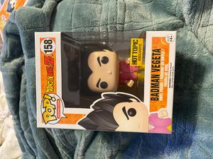 Badman Vegeta Hot Topic exclusivities funko pop mint for Sale in San Jose, CA