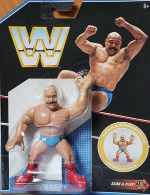 New WWE Retro App Action Figure. (Iron Shiek) for Sale in Apopka, FL