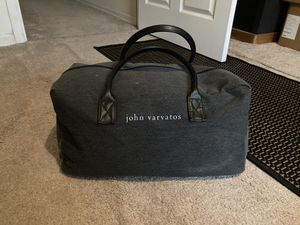 John Varvatos - Overnight/Weekender duffel Bag For Sale!!! Designer, Gucci, Louis for Sale in Charlotte, NC
